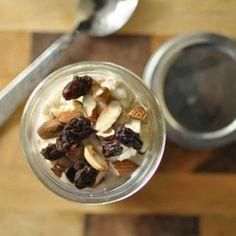 Make-Ahead Chilled Oatmeal.