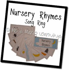 nursery rhymes song ring free printable (look under printables - games and songs) Nursery Rhymes Preschool, Nursery Rhyme Theme, Nursery Rhymes Songs, Preschool Music, Preschool Literacy, Early Literacy, Free Preschool, Preschool Worksheets, Kindergarten