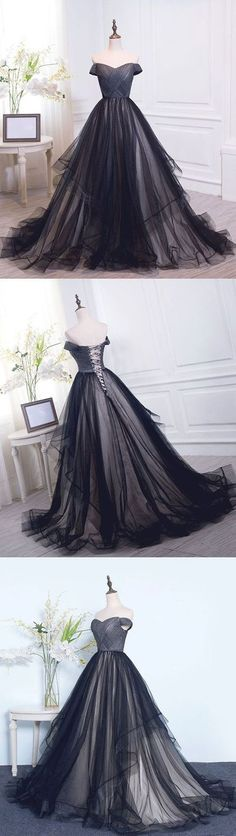 charming off the shoulder prom dress, long prom dress, cheap evening dress,465