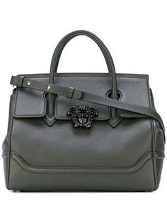 For some ladies, buying a genuine designer bag just isn't something to rush straight into. Because these handbags can easily be so pricey, most women generally agonize over their decisions before making an actual handbag acquisition. Versace Bag, Green Handbag, Green Purse, Trendy Handbags, Ladies Handbags, Designer Totes, Designer Bags, Tote Handbags, Tote Bags