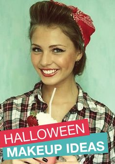 Halloween is right around the corner! Start looking into costume and makeup ideas.