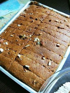 Mercury Information Management Platform: Eggless Atta Cake: Gur, Ginger Cake With Whole Wheat Eggless Recipes, Eggless Baking, Healthy Cake Recipes, Cookie Recipes, Dessert Recipes, Whole Wheat Cake Recipe, Good Desserts To Make, Fresh Fruit Cake, Cookies