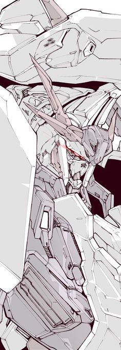 Gundam Art, Mecha Anime, Gundam Model, Mobile Suit, Twitter Sign Up, Character Design, Robots, Drawings, Digital Art