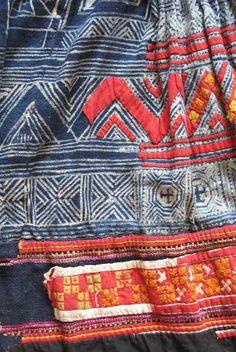 Hmong fabric Vietnam #textiles