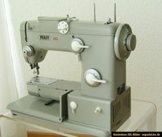 Vintage 1960 39 s singer touch sew model 639 sewing machine parts or repair usa - Reparation machine a coudre pfaff ...