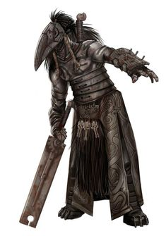 concept art for Raven Guards in Hellboy 2