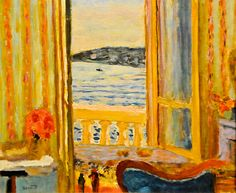 Pierre Bonnard - The Open Window, 1919 at the Virginia Museum of Fine Arts (VMFA) Richmond VA
