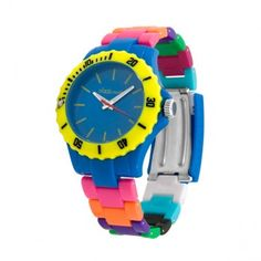 Pixelmoda via fab.com $30 #watch #colors #fun
