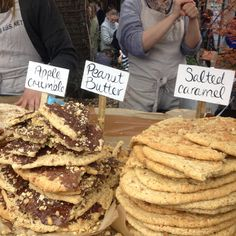 Delicious Desserts at the Camden Lock Market #travel #eat #London