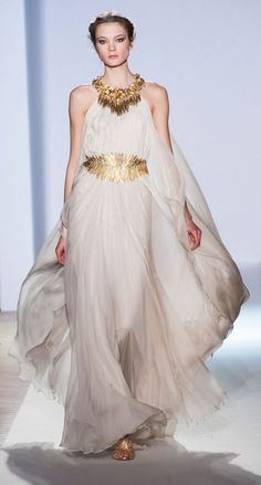 The Greek Goddess dress Zuhair Murad Spring Summer Cou. - The Greek Goddess dress Zuhair Murad Spring Summer Couture 2013 Source by JVLiebl - Style Couture, Couture Fashion, Fashion Show, Women's Fashion, Greek Goddess Dress, Greek Goddess Costume, Greece Goddess, Divine Goddess, Egyptian Goddess