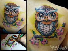 tattoo coruja - Pesquisa Google