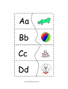 Preschool and Kindergarten Phonics:  Letter sound puzzles will help you teach initial consonants, letter recognition, letter sounds, and short vowe...