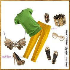 """golden butterfly"" by maritza-murillo on Polyvore"