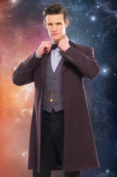 The Eleventh Doctor's Purple Coat
