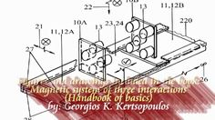 """Magnetic system of three interactions"" (Handbook of basics) DRAWINGS AN..."