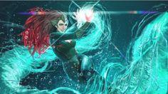 "comicarts: ""Dolphin, Mera, Poison Ivy, Starfire, Batgirl and Batwoman by Stjepan Sejic "" The Darkness, Arthur Curry, Mera Dc Comics, Marvel Dc Comics, Michael Turner, Aquaman, Batwoman, Batgirl, Atlantis"