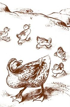 Robert McCloskey -- Make Way for Ducklings - Caldecott winner 1942 and 1957