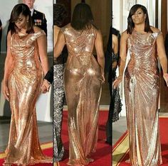 My First Lady in her last formal event at The White House 2016