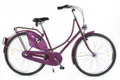 Damen Hollandrad violett