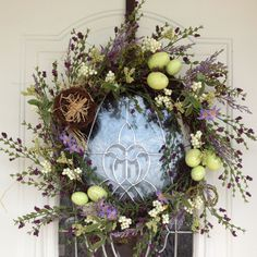 The perfect Easter wreath!