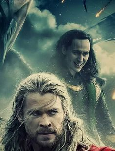 Why is Loki in the back all the time! He is soooooooo much better than Thor!:)