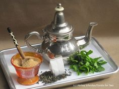 Moroccan Mint Tea Ingredients