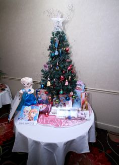 Disney Princess Tree was filled with Pixie Dust Adorable Disney Princess and Frozen ornaments. Included several Princess dolls, games and toys. Donated and Decorated by the Thomsen Team - Realty Executives Integrity Frozen Ornaments, Leukemia And Lymphoma Society, How To Raise Money, Integrity, Pixie, Trees, Christmas Tree, Dolls, Disney Princess