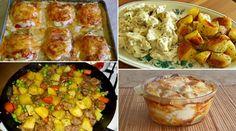 Összegyűjtöttünk 10 egytálétel receptet, melyek mind nagyon népszerűek az internetező magyar háziasszonyok, illetve a főzni szerető hölgyek és urak között. Talán az ínycsiklandó fotók miatt, de az biztos, hogy rengetegen olvasták, és minden bizonnyal el is készítették ezeket a ételeket. Biztos talál Lunch Time, Mashed Potatoes, Macaroni And Cheese, Cauliflower, Food And Drink, Meat, Chicken, Dinner, Vegetables