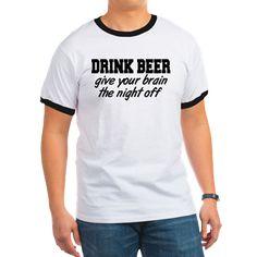 Drink Beer T Shirt.
