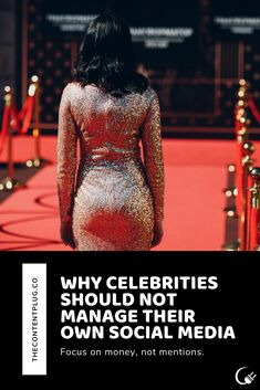 Four reasons why need to let a manager, agent, or other trusted source manage their New Market, Celebs, Celebrities, Social Media, Let It Be, Formal Dresses, Profile, Fashion, Dresses For Formal