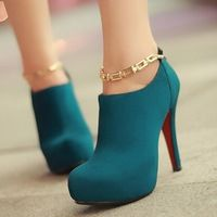 New arrival fashion no-frills Roman high shoes red bottom shoes ...