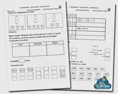 La Eduteca: RECURSOS PRIMARIA   Actividades de repaso de matemáticas para 2º de Primaria