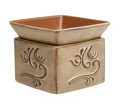 Scentsy Element Warmers In Fall Winter 2013 Catalog Sandstone Warmer Features A Graceful Windswept Design Against Weathered Background