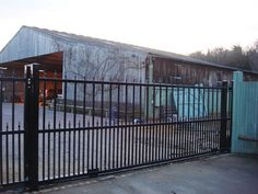 We have an extensive portfolio of Driveway Gate installations. Many of these Driveway Gates are electric and can be opened with remote control. Gate Company, Sliding Gate, Driveway Gate, Gates, Remote, Deck, London, Outdoor Decor, Image