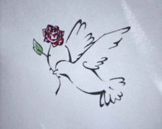 Dove Tattoo Designs Gallery 14
