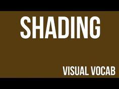 Shading defined - From Goodbye-Art Academy - YouTube
