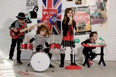Quiero una banda de rock and roll #kids #imaginarium