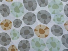 Cotton Fabric,Garden Party by Jane Dixon for Andover Fabrics, By the Yard, 44/45 inches Wide, Modern, Geometric, Decorating, Quilting Fabric