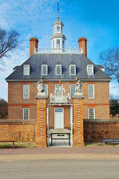 Governor's Mansion in Colonial Williamsburg, VA