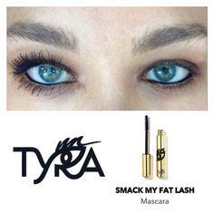 Smack My Fat Lash by Tyra Beauty. #tyra #mascara # beauty www.tyra.com/glamfam