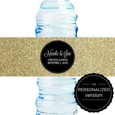 DIY Water Bottle Label Template Bachelorette Bash X Hot - Bachelorette water bottle label template