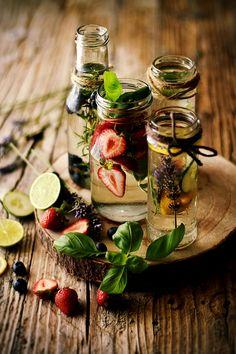 Sweet Gula: Águas Aromatizadas - 4 Receitas Funcionais para o Verão