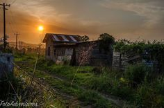 Colours of sunset #history #oldbuilding #relic #farmlands #rural_love #sunset #smokehazesunset #smokehaze #fotoadventures