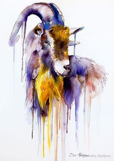 Colorful Animal Portraits By Slaveika Aladjova http://designwrld.com/colorful-animal-portraits-slaveika-aladjova/