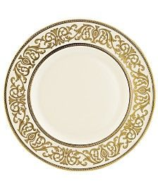Shop for Lenox Westchester Gold China Accent Plate. Get free delivery On EVERYTHING* Overstock - Your Online Kitchen & Dining Outlet Store! Square Dinnerware Set, Dinnerware Sets, White Dinnerware, Dinner Sets, Place Settings, Table Settings, Mens Gift Sets, Fine China, Old World