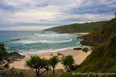 Kings Beach, Australia — by Christy Woodrow. Kings Beach in Australia is a secluded cove that can be reached by a short hiking trail from Broken Head Holiday. Camping In England, Camping In Ohio, Coast Australia, Australia Travel, Books Australia, Places To Travel, Places To See, Road Trip, Beautiful Beaches