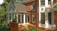 mesmerizing living room addition gable roof | 39 Best Sunroom Exterior Photos images | Home decor ...