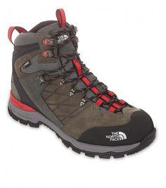 The North Face Men Verbera Hiker II Goretex boots Graphite Grey/Tnf Red