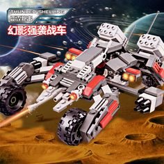 Star Space war building block Thunder shelling phantom assault chariot Military soliders bricks compatible legoeinglys.toys Price: USD 23.99 | United States