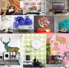 48 Stunning Wall Murals That You Can DIY or Purchase - http://www.amazinginteriordesign.com/48-stunning-wall-murals-can-diy-purchase/